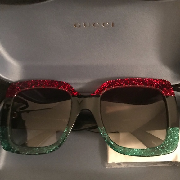 0da562e2c177f Gucci square frame acetate sunglasses